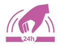Icon 24-Stunden-Pflege